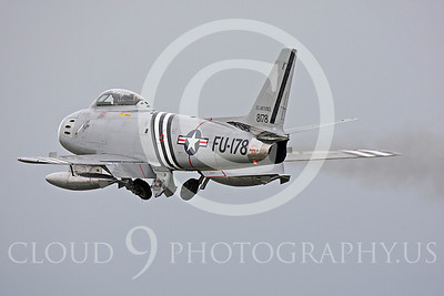 WB - North American F-86 Sabre 00020 North American F-86F Sabre US Air Force warbird markings by Peter J Mancus