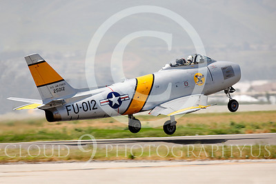WB - North American F-86 Sabre 00018 North American F-86F Sabre US Air Force warbird markings by Peter J Mancus