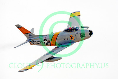 WB - North American F-86 Sabre 00010 North American F-86F Sabre US Air Force warbird markings by Peter J Mancus