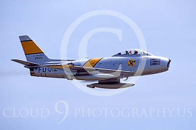 WB - North American F-86 Sabre 00022 North American F-86F Sabre US Air Force warbird markings by Peter J Mancus
