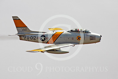 WB - North American F-86 Sabre 00060 North American F-86F Sabre US Air Force warbird markings by Peter J Mancus