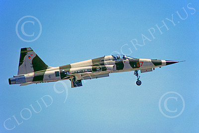F-5USAF 00012 Northrop F-5E Freedom Fighter USAF May 1979 by PeterJ Mancus
