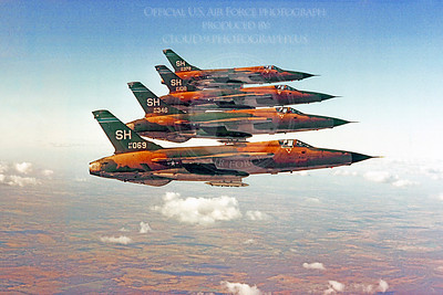 F-105USAF 00092 Republic F-105 Thunderchief USAF 61069 Official USAF photograph produced by Cloud 9 Photography