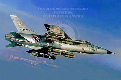F-105USAF 00072 Republic F-105 Thunderchief USAF 24234 Official USAF photograph produced by Cloud 9 Photography  BU