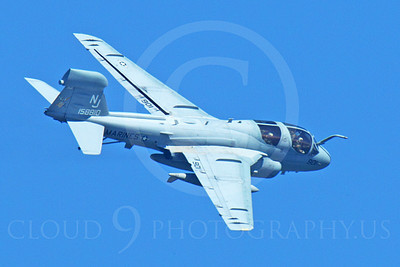 EA-6BUSMC 00016 Top view of a flying USMC Grumman EA-6B Prowler 158810 assigned to VAQ-129 VIKINGS, airplane picture, by Peter J Mancus