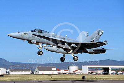 F-18USMC 00096 McDonnell Douglas F-18A Hornet USMC VMFA-323 by Peter J Mancus