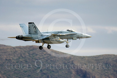 McDonnell Douglas F-18C - USN 00012 McDonnell Douglas F-18C Hornet US Navy VFA-204 RIVER RATTLERS Nellis AFB 22 March 2005 by Peter J Mancus