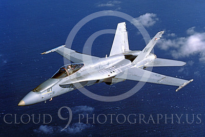 F-18USMC 00110 McDonnell Douglas F-18A Hornet USMC VMFA-314 by Peter J Mancus