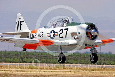 WB - North American SNJ Texan 00010 North American SNJ Texan US Marine Corps trainer warbird by Peter J Mancus