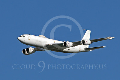 E-6 00008 A US Navy Boeing E-6 Mercury in flight at a US Naval Centennial airshow, by Peter J Mancus