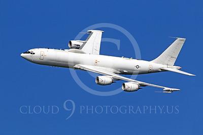 E-6 00004 A US Navy Boeing E-6 Mercury in flight at a US Naval Centennial airshow, by Peter J Mancus