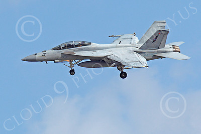 TOPG 00202 Boeing F-18F Super Hornet US Navy TOP GUN Naval Strike Air Warfare Center NSAWC June 2010, by Peter J Mancus
