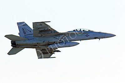 Boeing F-18F - USN 00182 Right side view of an in-flight US Navy Boeing F-18F Super Hornet AB tail code military airplane picture, by Peter J Mancus