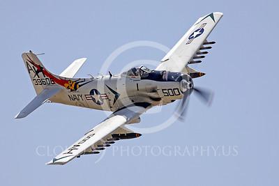 WB - Douglas A-1 Skyraider 00046 Douglas A-1 Skyraider by Peter J Mancus