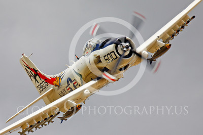 WB - Douglas A-1 Skyraider 00068 Douglas A-1 Skyraider US Navy attack aircraft by Peter J Mancus