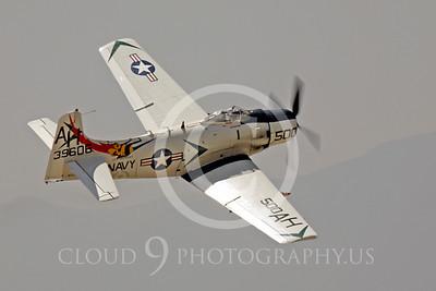 WB - Douglas A-1 Skyraider 00130 Douglas A-1 Skyraider by Peter J Mancus