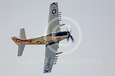 WB - Douglas A-1 Skyraider 00050 Douglas A-1 Skyraider by Peter J Mancus