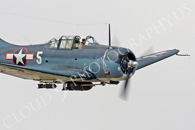 WB - Douglas SBD Dauntless 00040 Douglas SBD Dauntless US Navy World War II dive bomber warbird by Peter J Mancus