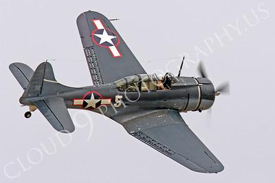 WB - Douglas SBD Dauntless 00022 Douglas SBD Dauntless US Navy World War II dive bomber warbird by Peter J Mancus