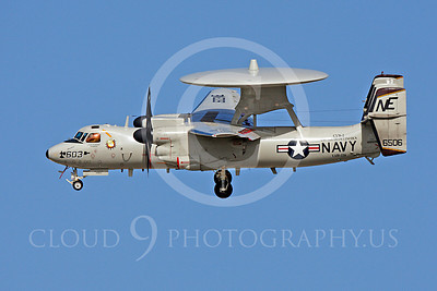 E-2USN 00036 Grumman E-2C Hawkeye US Navy 166506 VAW-116 USS Abraham Lincoln June 2010, by Michael Grove, Sr