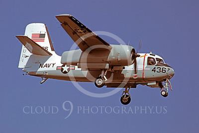 S-2USN 00002 Grumman US-2B Tracker US Navy 136436 17 April 1979 Atsugi by Matsumi Wada