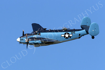 WB - Lockheed PV-2 Harpoon 00002 An in-flight US Navy Lockheed PV-2 Harpoon WWII era warbird during a Naval Centennial Airshow, by Peter J Mancus