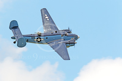 WB - Lockheed PV-2 Harpoon 00010 An airborne USN Lockheed PV-2 Harpoon warbird airplane picture by Peter J Mancus