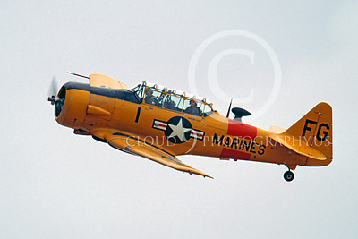WB - North American SNJ Texan 00012 North American SNJ Texan US Marine Corps trainer warbird by Peter J Mancus