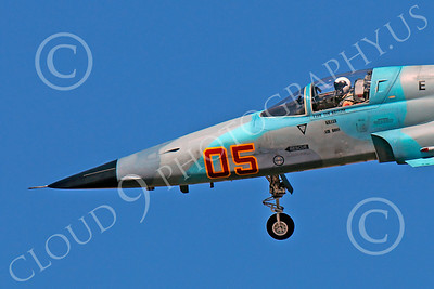 F-5USN 00078 US Navy Vice Admiral Tom Kilcline's Northrop F-5E Freedom Fighter USN 761544 VFC-13 FIGHTING SAINTS office, by Peter J Mancus