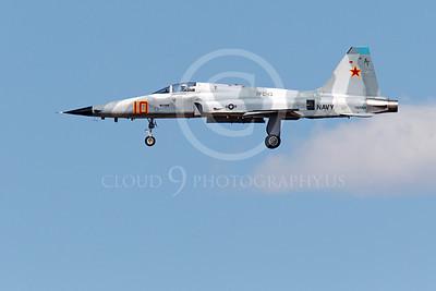 F-5USN 00098 Northrop F-5E Freedom Fighter USN 761564 VFC-13 FIGHTING SAINTS lands at NAS Fallon, by Peter J Mancus