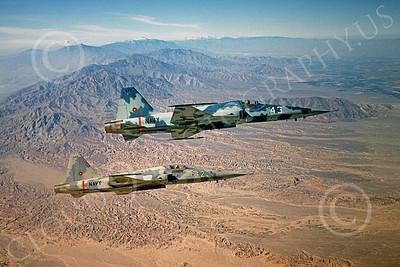F-5USN 00018 Northrop F-5E Freedom Fighter US Navy 543 TOPGUN 1980 by Peter J Mancus