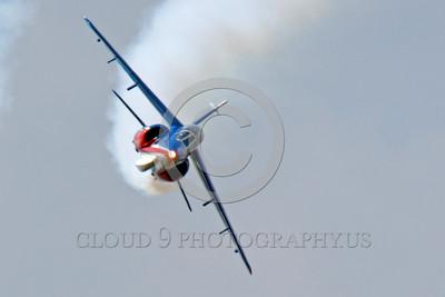 Patrouille de France 00038 A solo flying Dassault-Breguet Dornier Alpha Jet Patrouille de France military airplane picture by Peter J Mancus