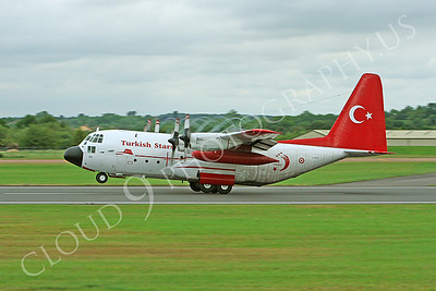 TurkS-C-130 00001 Lockheed C-130 Hercules Turkish Air Force 73-0991 TURKISH STARS by Peter J Mancus