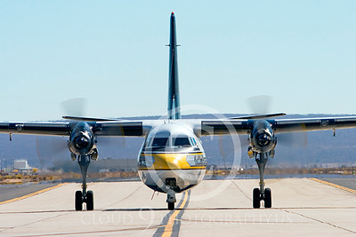 GoldK 00019 A taxing Fokker C-31 Troopship US Army GOLDEN KNIGHTS Edwards AFB military airplane picture by Peter J Mancus