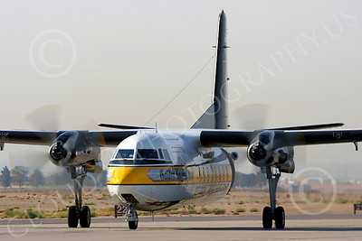 GoldK 00001 US Army Fokker F27 Friendship Golden Knights taxis, by Peter J Mancus