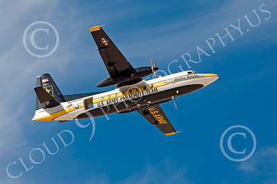 GoldK 00004 A flying Fokker C-31 Troopship US Army GOLDEN KNIGHTS military airplane picture by Peter J Mancus