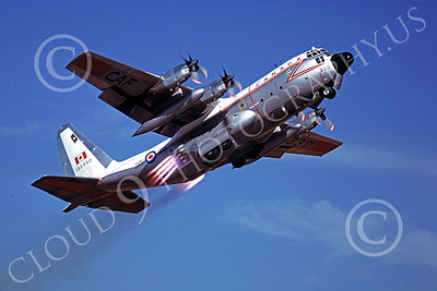 JATO 00005 A Lockheed C-130 Hercules Canadian Armed Forces JATO take off 9-1977 military airplane picture by by Peter B Lewis