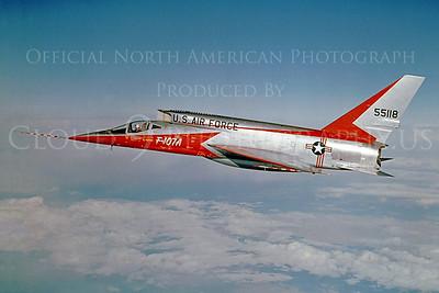 PT 00007 North American F-107A Ultra Sabre 55118 via North American Aviation Company