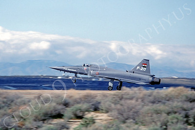 PT 00004 Northrop F-20 Tiger Shark 82-0062 3 April 1983 Edwards AFB by Michael Grove, Sr