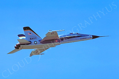 PT 00009 Northrop F-18 Hornet by Stephen W D Wolf