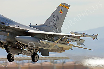 ORD 00016 Lockheed Martin F-16 Fighting Falcon USAF 01052 SW by Peter J Mancus