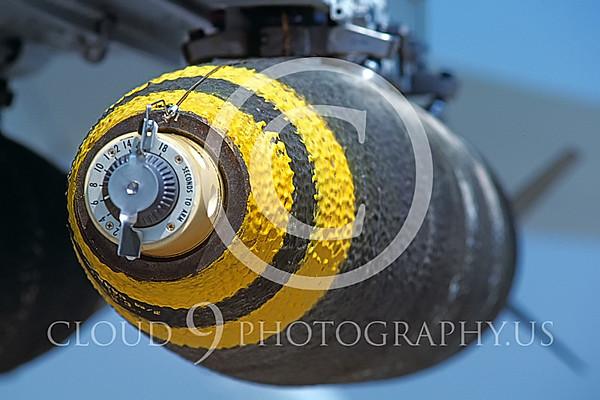ORD 00002 High explosive 250 pound bomb on USMC F-18 Hornet April 1983 El Toro by Peter J Mancus