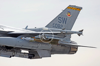 ORD 00018 Lockheed Martin F-16 Fighting Falcon USAF 99082 SW by Peter J Mancus