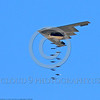 OR-B-2  0002 A Northrop B-2 Spirit USAF strategic stealth jet bomber releases conventional bombs during a 2013 training mission military airplane picture by Michael Grove, Sr      DONEwt
