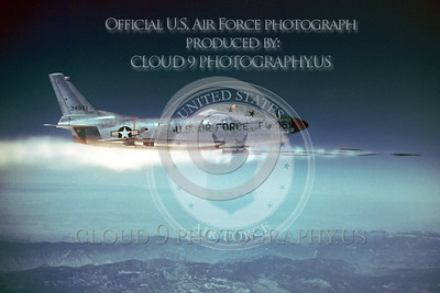 U.S. Air Force North American F-86 Sabre Ordnance Release Pictures