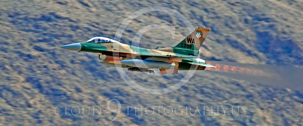 WSP-MA 00008 Lockheed Martin F-16 Fighting Falcon USAF AGGRESSOR Nellis AFB by Peter J Mancus