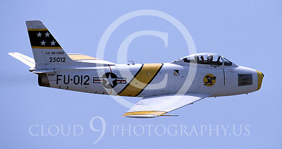 WSP-MA 00434 North American F-86F Sabre US Air Force warbird markings by Peter J Mancus