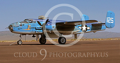 WSP-MA 00411 North American B-25 Mitchell Pacific Princess by Peter B Lewis