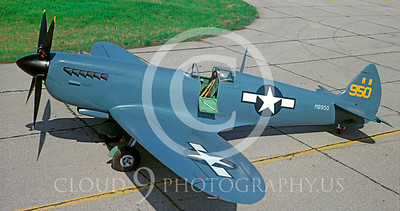 WSP-MA 00053 Vickers-Supermarine Spitfire US Army Air Corps warbird by David W Menard