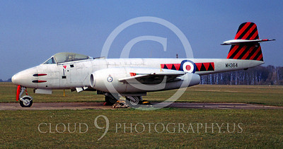 WSP-MA 00131 Gloster Meteor Mk ll British RAF WH364 by Peter Elliott